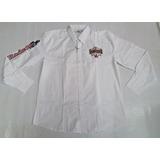 Camisa Masculina Branca Radade Bordada Ml Country Rodeio 84f8fedaf48