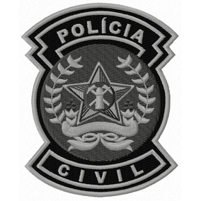 Broche Da Policia Civil - Mais Categorias no Mercado Livre Brasil 493ad180944