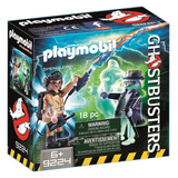 Playmobil 9224 Cazafantasmas Spengler Y Fantasma Mundomanias