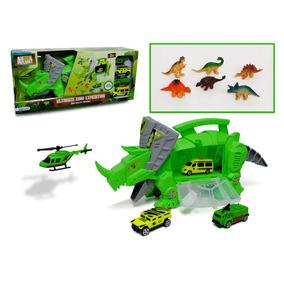 Dinosaurio Porta Vehiculos Y Dinos Animal Planet