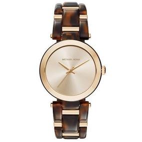 Reloj Michael Kors Para Mujer Delray Tort Modelo Mk4314