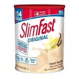 Malteada Slim Fast Sabor Vainilla 364 Gr. ( 14 Porciones)