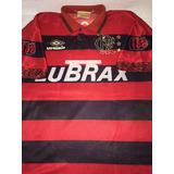 Camisa Flamengo 100 Anos Umbro - Futebol no Mercado Livre Brasil 80287af441fe7