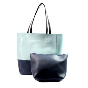 Cartera Bolso Mujer Shopping + Portacosmetico Top3 Oficial