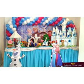 Decoracao Festa Infantil Frozen Casa Móveis E Decoração No