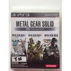Ps 3 - Metal Gear Solid Hd Collection