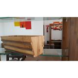 Tabebuia Porta Frutas//macetero Eleborado Con Bambú Gigante