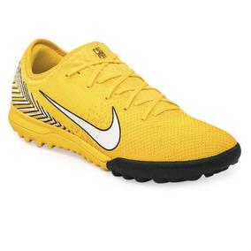 Botines Nike Fútbol Sintético 100% Cuero Originales Yellow 80c26be52316e