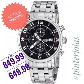 1b5376c68fe 1m Relogio Technos Chronograph Os10cs - Relógios De Pulso no Mercado ...