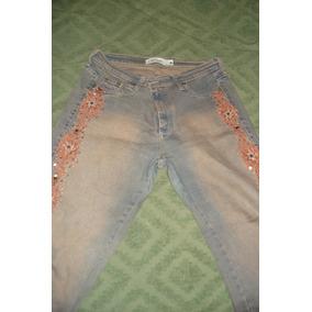 Pantalon De Jean De Mujer Oxford Occo Con Mostasillas ee21704853a4