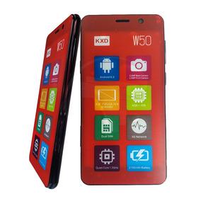 Teléfono Celular Android Dual Sim Kenxinda Kxd W50 Negro Tt