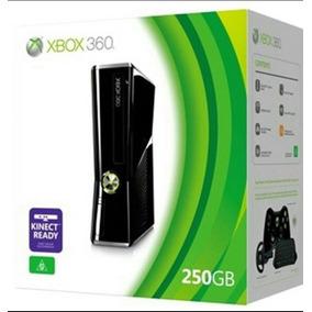 Xbox 360 36 Gb + 6 Discos Originales + Kinect Oca 12 ×