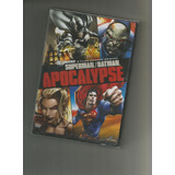 Superman E Batman Apocalypse Dvd Lacrado