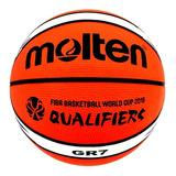 Pelota Balón De Basquetbol Basket Molten Gr7 Fiba N° 7