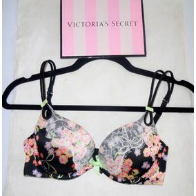 Victorias Secret Lenceria Bra Push Up Pedrería 32c