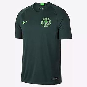 Playera Del Nigeria Verde Soccer en Mercado Libre México b6691566d7a3f