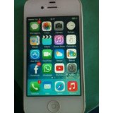 Iphone 4 - 8gb - Branco Semi-novo Completo