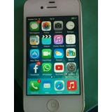 iPhone 4 - 8gb - Branco Semi-novo Completo