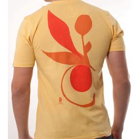 Camisa Masculina - Floral Alpinea - Amarelo Aurum