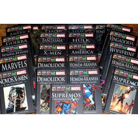 Graphic Novels Marvel Salvat Avulsas 1 A Xxx Monte Seu Lote