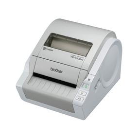 Impresora De Etiquetas Y Código De Barras Brother Td4100n