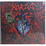 Korzus 2004 Ties Of Blood Lp Reedição Vinil Vermelho 180 G