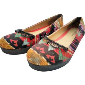 Zapatos Flats Usados De Colores Andrea