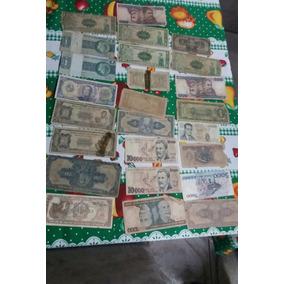Notas Dinheiro De Vários Países