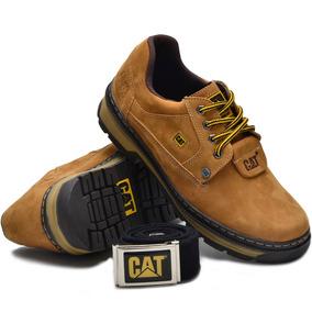 Sapato Sapatenis Tenis Caterpillar + Cinto Couro Promoção