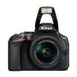 Camara Nikon D5600 Con Lente 18-55mm Vr