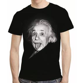 Camisa Camiseta Albert Einstein - Estampa Total