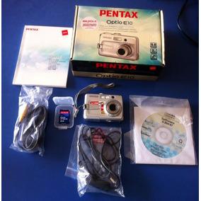 Camara Pentax Digital 6.0 , Poco Uso Dañado Fleje .