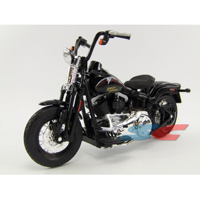 Harley Davidson Flstsb Cross Bones 2008 1/18 Maisto Serie 27