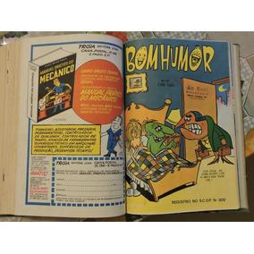 14 Revistas Piadas Encadernadas 446 Pgs. Ilustradas Dec. 70