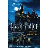 Harry Potter - Coleccion Comp Box 8 Pelis- Envio Gratis
