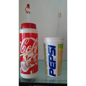Copo Pepsi + Copo Coca Cola Anos 90 c7b81fa26cbf2