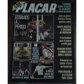 1978 Revista Placar Nº 418 Ed Abril Pôster Flamengo