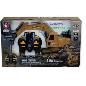 Trator Escavadeira R/c 8 Ch Mod 6811l + Melhor Preço