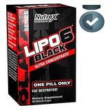 Lipo 6 Black Termogênico Import 60 Cáps. Estados Unidos