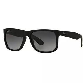f4c6d8ab0faa8 Óculos Sol Ray Ban Justin Rb4165 Preto Masculino Original