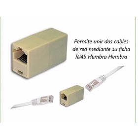 Conector Rj45 Hembra Hembra Extensión Adaptador