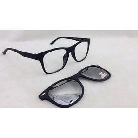 Armação Oculos Grau 2 Clip On Mc3224 C3 Marrom Polarizado - Óculos ... c07a5e1b6d