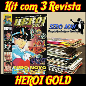 Kit Com 3 Revistas - Herói Gold