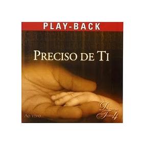 cd diante do trono preciso de ti playback 2001