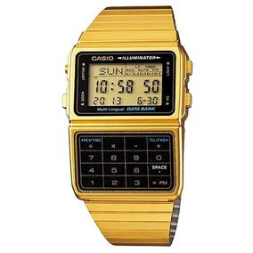 6e43c3cad94 Relogio Casio Calculadora Dourado - Relógio Casio no Mercado Livre ...