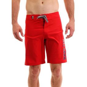 Shorts Surfo Para Hombre Hang Ten Rojo 4e1fae7847a