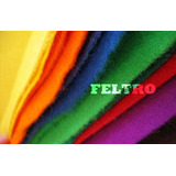 Kit Feltro 10m X 1,4m Escolhas As Cores 10 Metros