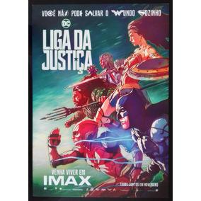 Liga Da Justiça - Mini-pôster Oficial Imax