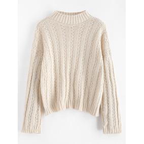 Sweater De Mujer Ancho De La Bandera Inglesa - Vestuario y Calzado ... a94021cf1f5f