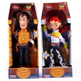 Kit 2 Bonecos Toy Story Woody + Jessie ( Novo Na Caixa )